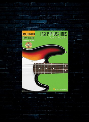 Easy Pop Bass Lines w/CD