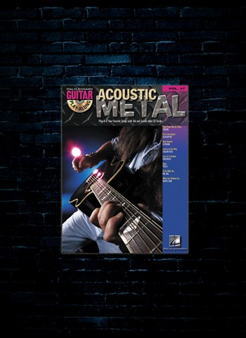 Acoustic Metal Playalong w/CD #37