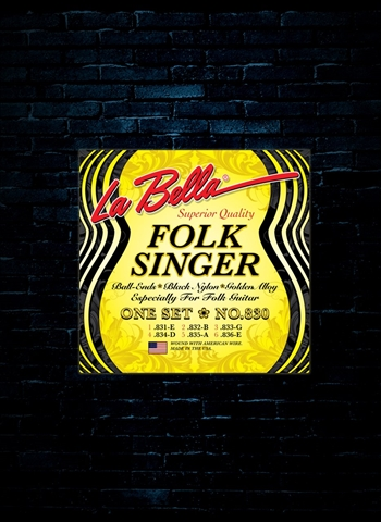 La Bella 830 Classical Folk Guitar Strings