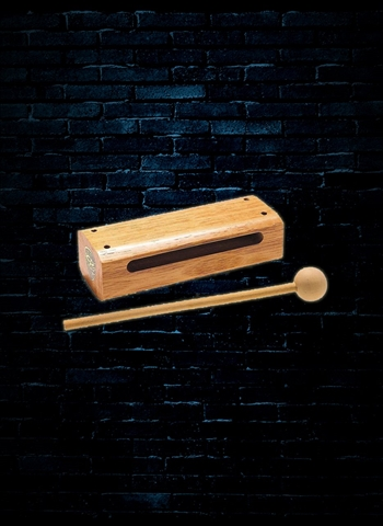 Latin Percussion LPA210 Small Aspire Wood Block With Striker