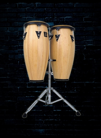 Latin Percussion LPA646-AW Aspire Wood Conga Set - Natural