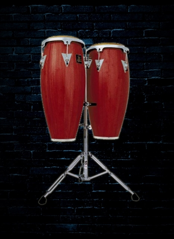 Latin Percussion LPA646-DW Aspire Series Conga Set - Dark Wood