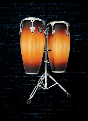 Latin Percussion LPA646-VSB Aspire Series Conga Set - Vintage Sunburst