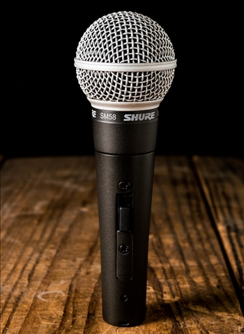 Shure SM58 On/Off Switch Vocal Microphone