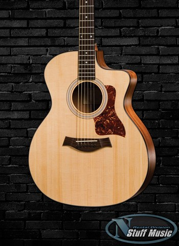 Taylor 114CE Solid Top Acoustic Guitar - Rental