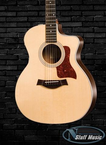 taylor 314ce solid top acoustic guitar rental. Black Bedroom Furniture Sets. Home Design Ideas