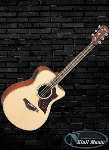 Yamaha AC1M Solid Top Acoustic Guitar - Rental