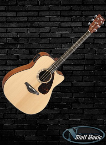 Yamaha AC3R Solid Top Acoustic Guitar - Rental
