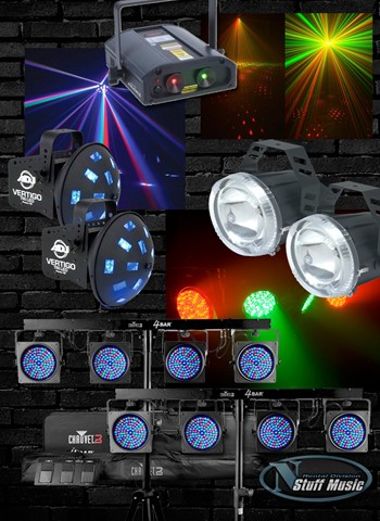 DJ Lighting Package 3 - Rental