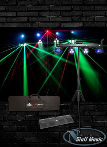 Chauvet GigBAR IRC 4-in-1 Lighting Fixture - Rental