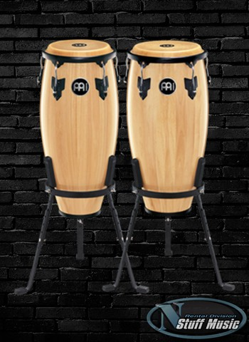 "Meinl HC555 Headliner Series Congas 10"" and 11"" Set - Rental"