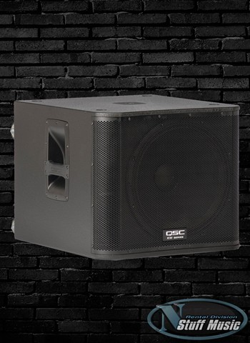 "QSC KW181 - 1000 Watt Powered 18"" Subwoofer - Rental"