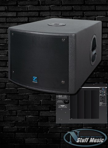 Yorkville NX200S - 200 Watt Powered Subwoofer - Rental