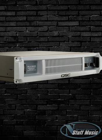 QSC PLX3602 - 3600 Watt Stereo Power Amplifier - Rental