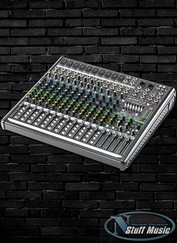 Mackie PROFX16v2 16-Channel 4-Bus Effects Mixer with USB - Rental