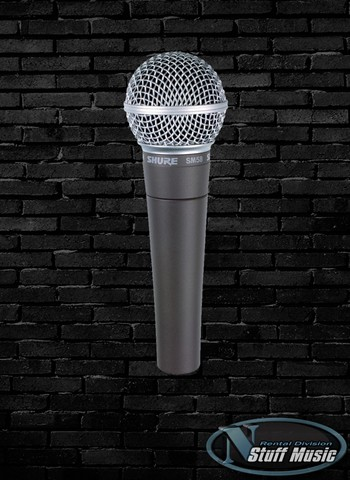 Shure SM58-LC Vocal Microphone - Rental