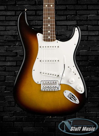 Fender Standard Stratocaster - Brown Sunburst - Rental
