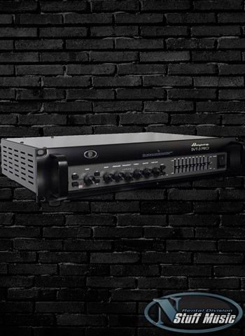 Ampeg SVT-3PRO 450 Watt Bass Head - Rental