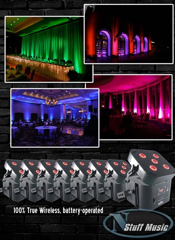Up-Lighting Package 3 - Rental