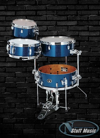 Tama Silverstar 4-Piece Cocktail-Jam Kit - Rental