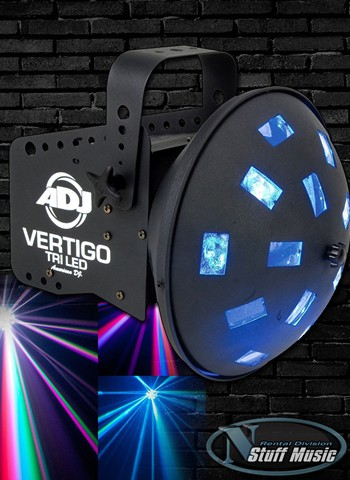 American DJ Vertigo HEX LED Effect Light - Rental