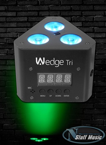Chauvet Wedge Tri LED Wash Light - Rental