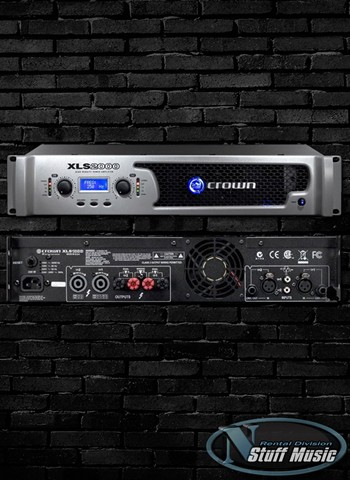 Crown XLS2000 Power Amplifier - Rental