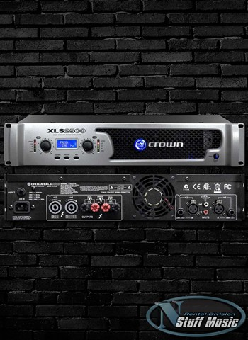 Crown XLS2500 Power Amplifier - Rental