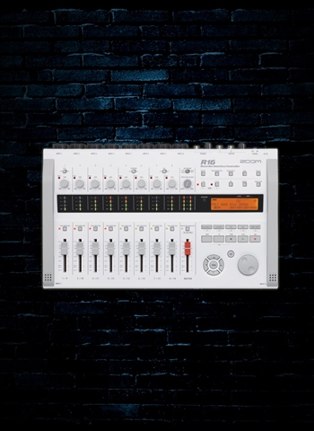 Zoom R16 - 16-Track Digital Recorder/Interface/Controller