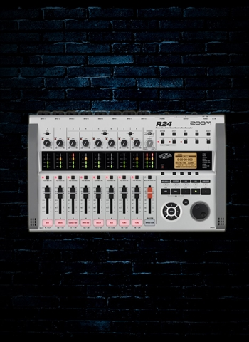 Zoom R24 - 24-Track Digital Recorder/Interface/Controller/Sampler