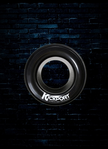 KickPort Bass Drum Sound Hole Enhancer - Black