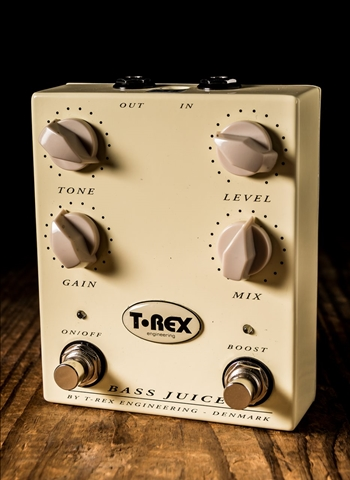 T-Rex Bass Juice Distortion Pedal