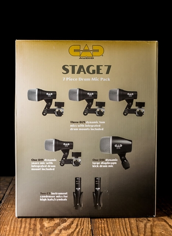 CAD STAGE7 - 7-Piece Drum Microphone Pack