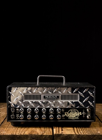 Mesa Boogie Mini Rectifier 25 - 25 Watt Metal Chassis Guitar Head - Black
