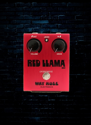 Way Huge WHE203 Red Llama Overdrive Pedal