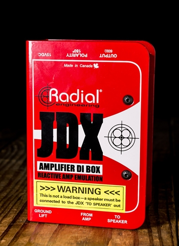 Radial JDX Reactor Direct Box Pedal