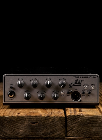 Aguilar Tone Hammer 350 - 350 Watt Bass Head - Black
