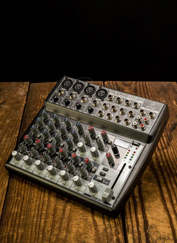 Behringer XENYX 1202FX - 8-Channel Analog Mixer