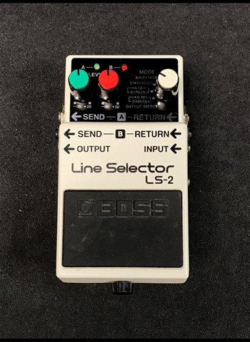 BOSS LS-2 Line Selector Pedal *USED*