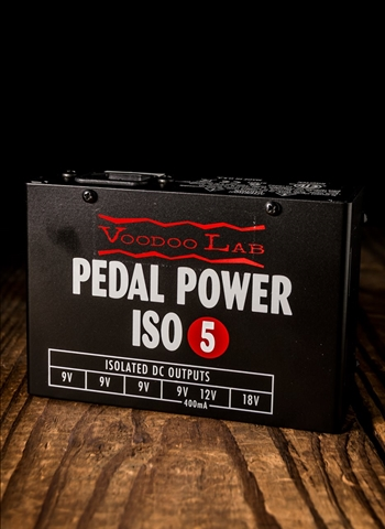 Voodoo Lab Pedal Power ISO-5 Isolated Pedal Power Supply