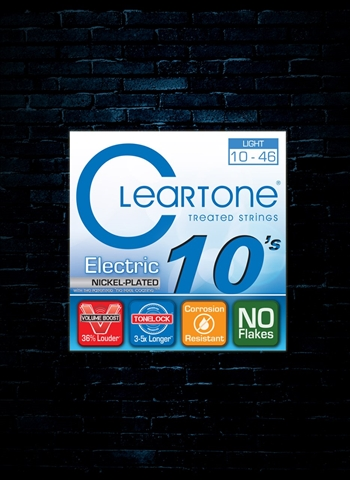 Cleartone 9410 Nickel-Plated Steel Electric Strings - Light (10-46)