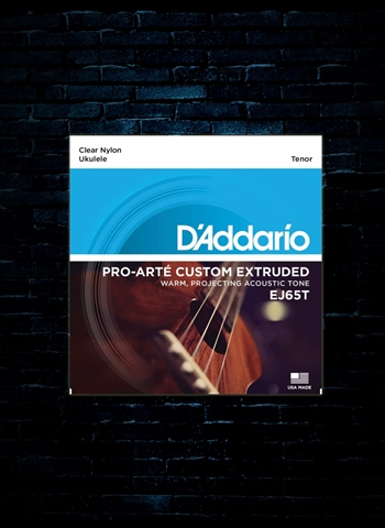D'Addario EJ65T Pro-Arte Custom Extruded Ukulele Strings - Tenor (29-29)