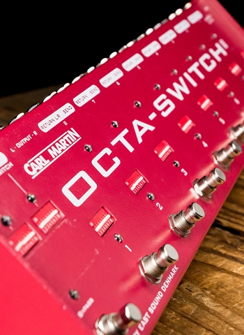 Carl Martin Octa-Switch MKII Effects Switcher Pedal