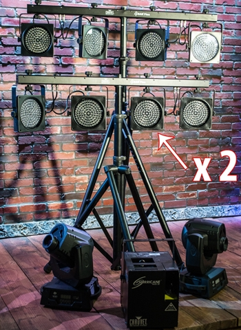 Band Lighting Rental Package #3