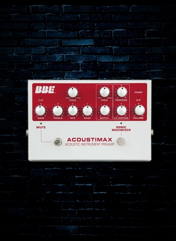 BBE Acoustimax Acoustic Preamp Pedal
