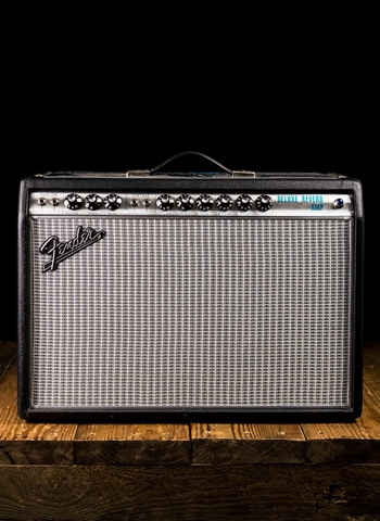 "Fender '68 Custom Deluxe Reverb - 22 Watt 1x12"" Guitar Combo - Black"