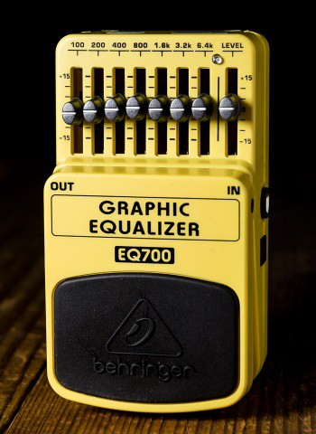 Behringer EQ700 7-Band Graphic Equalizer Pedal