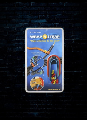 "Wrap N Strap 906M - 6"" Cable Straps (6 Pack)906M - 6"" Cable Straps (6 Pack)"