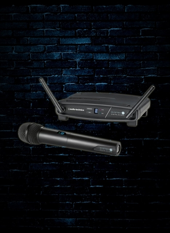 Audio-Technica ATW-1102 Stack-Mount Digital Wireless System/Handheld Mic