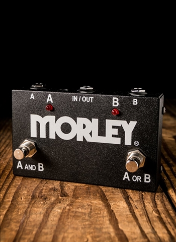 Morley ABY Selector/Combiner Switch Pedal